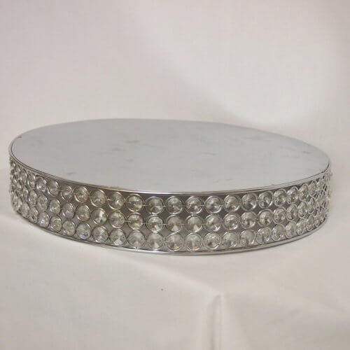 Crystal Jewelled Cake Stand