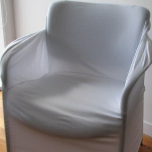 Chair covers for chairs with Arms White
