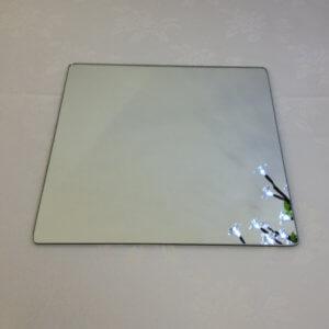 Square 35cm Mirror