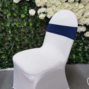 Navy Blue Chair Band