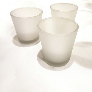 Frosted-Tealight-Holders