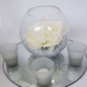 centrepiece package white