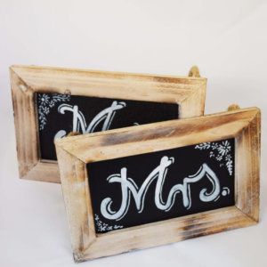Mr & Mrs Chalkboards