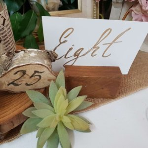 Beech Tree Table Numbers
