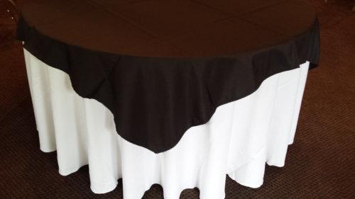 Black Tablecloth 175 square