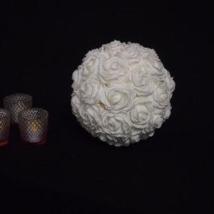 Small White Kissing Ball