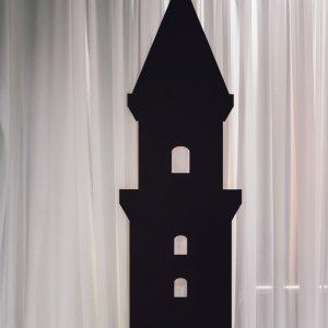 turret castle silhouette