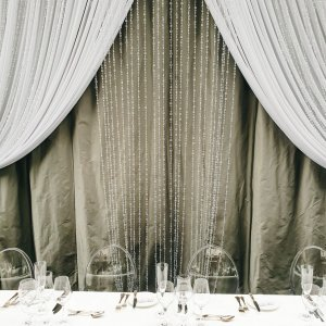 crystal curtain panel