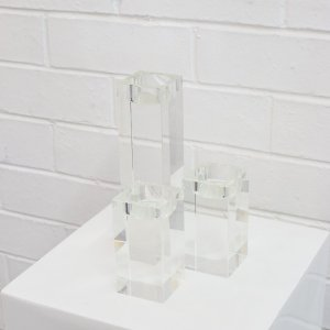 block tealight candleholder