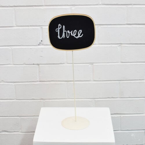 table number stick stand