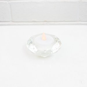 diamond tealight holder