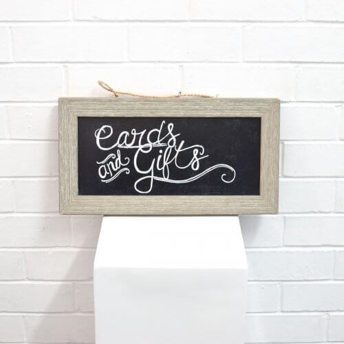 Small Grey ChalkBoard