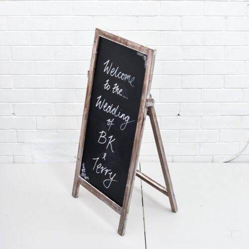 blackboard chalkboard