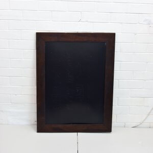 Dark Brown Blackboard Frame