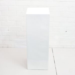 Plinth white high gloss