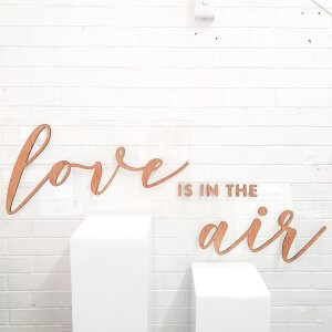 love is in the air sign