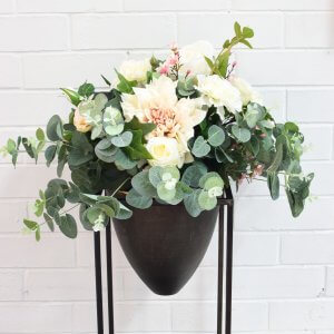 light floral arrangement