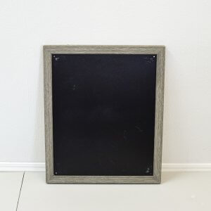 Rustic Blackboard Frame Large