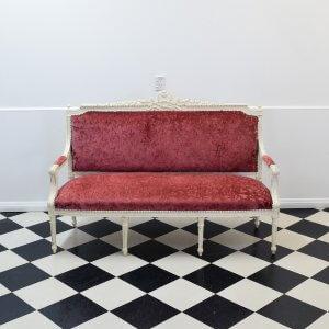 Vintage Dusky Pink Lounger
