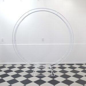 Circle Arch White