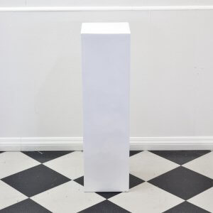 Pedestal High Gloss White
