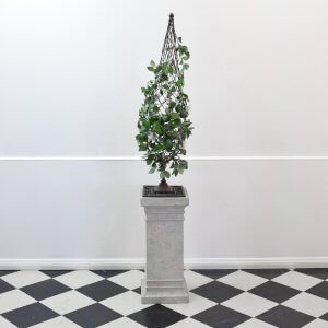 Wire Topiary on Pedestal