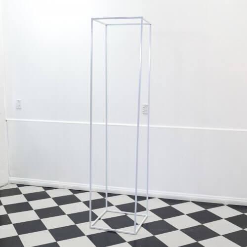 Large White Rectangle Frame