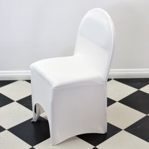 Cream Ribbed Chaircover