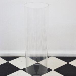 round acrylic plinth