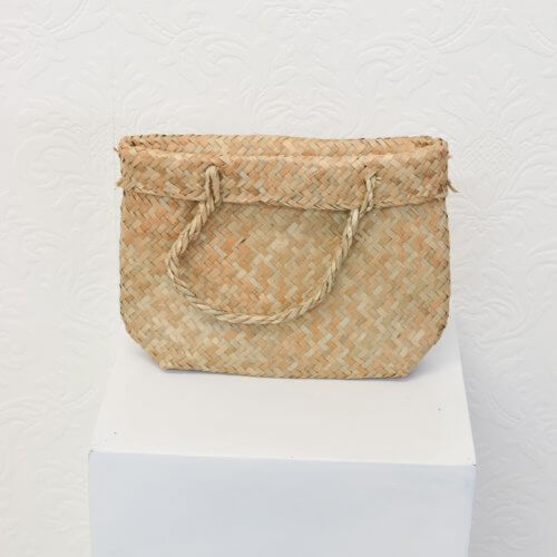 flax weave bags